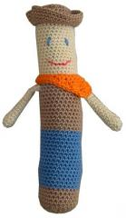Crochet cowboy Toy