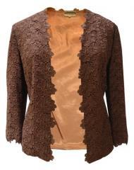 1960s caramel lace jacket