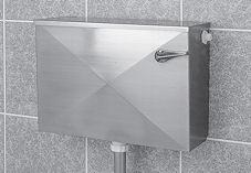 Stainless Steel Manual WC Cistern 132