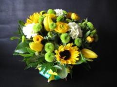 Bouquet Yellow Sunrise