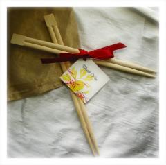 My eco chopsticks (green)