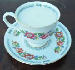Royal Grafton teacup candle and saucer