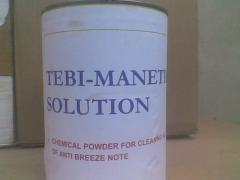 Tebi-manetic solution
