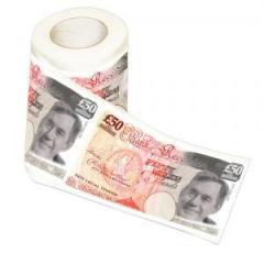 £50 Million toilet paper