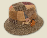 Patchwork Tweed Walking Hat