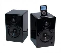 AktiMate Active Speaker Pair with iPod Dock