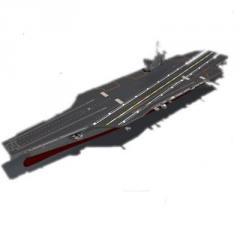Eisenhower model ship plastic kit