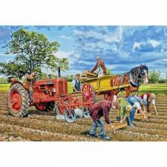 Seeding the crop 250 piece jigsaw puzzle Gibsons