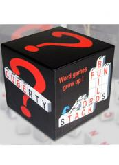 Logic game Cuberty 3d word game