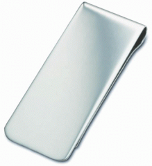 Money Clip Hallmarked Silver