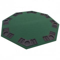 Octagonal Folding Poker Table Top with Carry Bag –