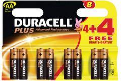 Duracell Plus batteries