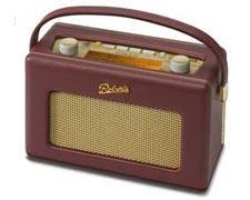 Roberts RD60 Revival DAB Radio Burgundy