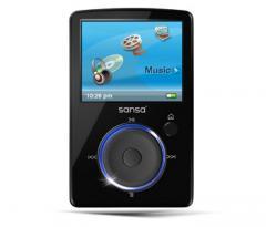 SanDisk Sanza Fuze FM 4gb BLACK mp3 player