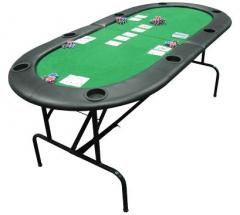 The nuts poker table