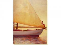 After Glow II ~ Sailing Wall Art