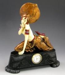 Art Nouveau Arabian Nights Handcrafted Mantle