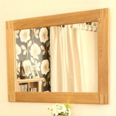 Baumhaus Aston Oak Wall Mirror