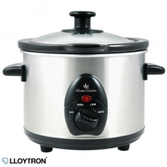 Stainless Steel 1.5 Litre Slow Cooker