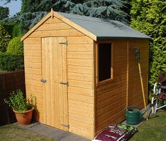 8' x 6' (approx) Shire Durham Apex Shed
