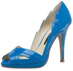 Women's eavan court shoe in blue