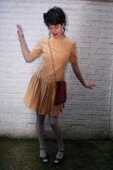 Mellow Yellow Pleated Dress