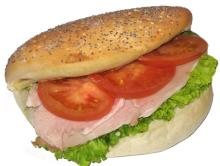 Ham Salad sandwiche