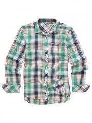 Diesel Slown Western Check Shirt, Green