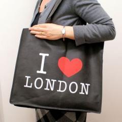 I Love London Shopping Bag