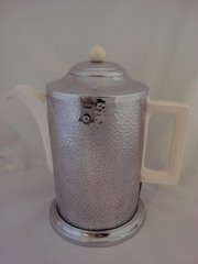 Art Deco Celtic Plate Covered Coffee Pot