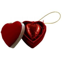Single Heart Box (1 Chocolate) - Carrick's of