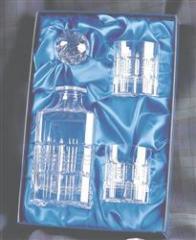 Crystalware, Tartan designed Crystal Spirit