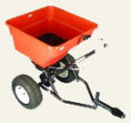 Towed Rotary Fertiliser Spreader