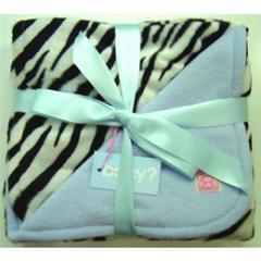 Double Layer Animal Print Blankets zebra