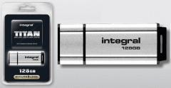 Integral 128GB Titan Secure USB 2.0 Pen Drive.