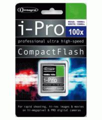 Integral 16GB 100x speed i-Pro Compact Flash Card