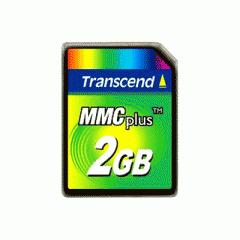 Transcend 2GB MMC Plus (Multi Media Card Plus)