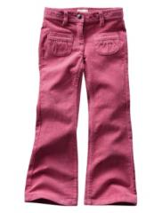 Bootcut Corduroy Trousers - Slim Fit
