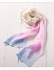 Summer Water Flower Silk Scarf