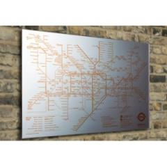 Tube Map Mirror