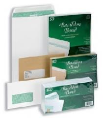 Bbond Envelopes C5Man P&S S/wrap Pk50
