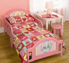 Peppa Pig - Toddler Bed - Pink