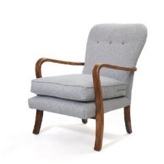 Sessel aus Naturholz
