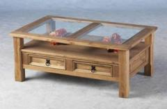 Corona Glass Top Coffee Table