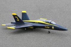 F/A-18C Hornet Blue Angels 70mm Electric RTF Jet