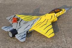 F16 Fighting Falcon Foam 64mm Ducted Fan Electric