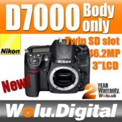 Nikon D7000 Digital DSLR Camera Body Only