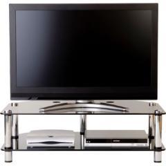 Optimum AV2B Smoked Glass - 1100mm wide Corner TV