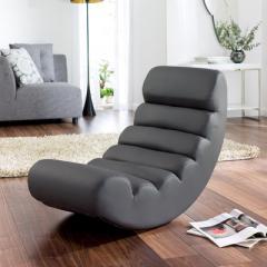 Ripple rocking chair grey