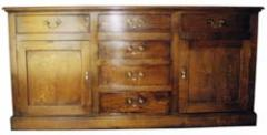 Six Drawer Dresser Base or Sideboard